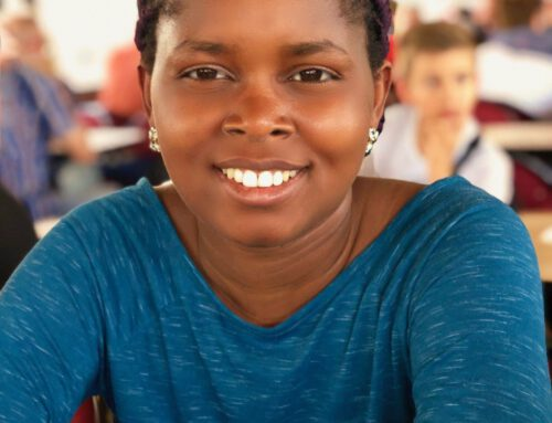 2015 Vanessa reist von Afrika nach Stuttgart